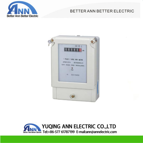 china energy meter expert/ single phase two wire electronic