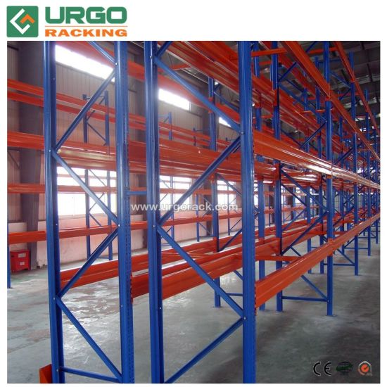 Heavy Duty Pallet Rack Corrosion Protection Selective Storage Warehouse