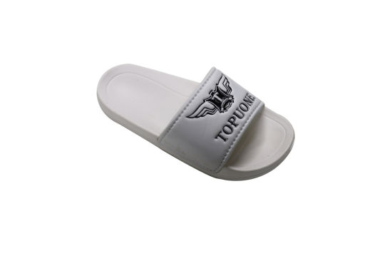 aa3342df47d6 White Soft PU Upper and EVA Plain Shoes Slipper for Women. Get Latest Price