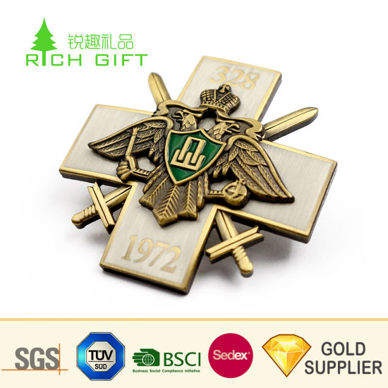 Wholesale China Custom Metal Brass Gold Plated Soft Enamel Masonic Lapel  Pins No Minimum