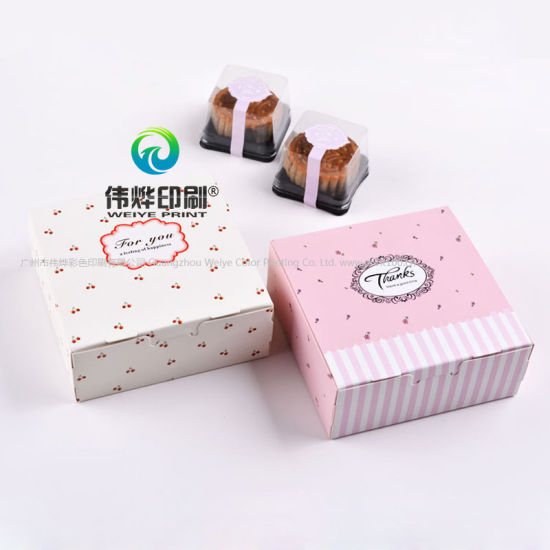 Custom Printing Recycled Cardboard Paper Cake Gift Packaging Box pictures & photos