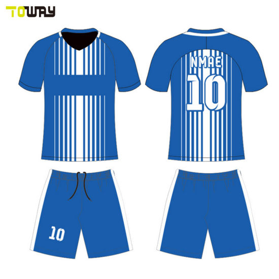 957335151 China Wholesale Custom Youth Soccer Jersey Set - China Soccer ...