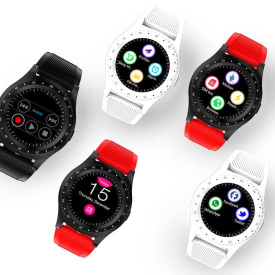 Fashion Video Recording Smart Watch Phone, with 30W Camera Music Bluetooth Call Sleep Monitor Smartwatch Phone