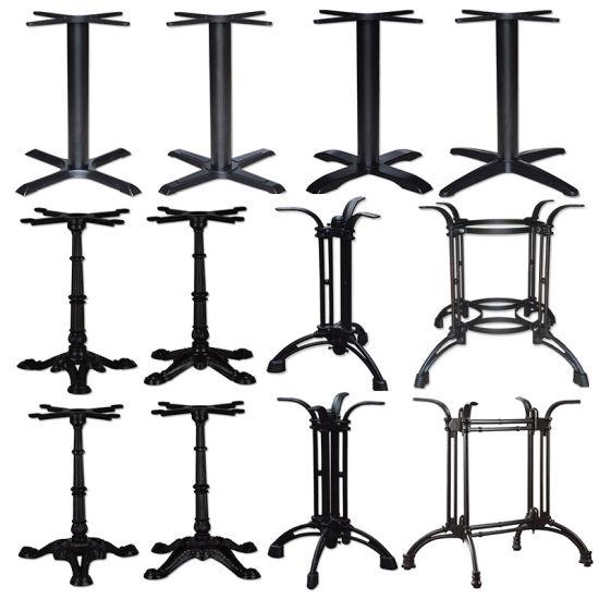 China wholesale commercial antique black cast iron metal table legs wholesale commercial antique black cast iron metal table legs for restaurant watchthetrailerfo