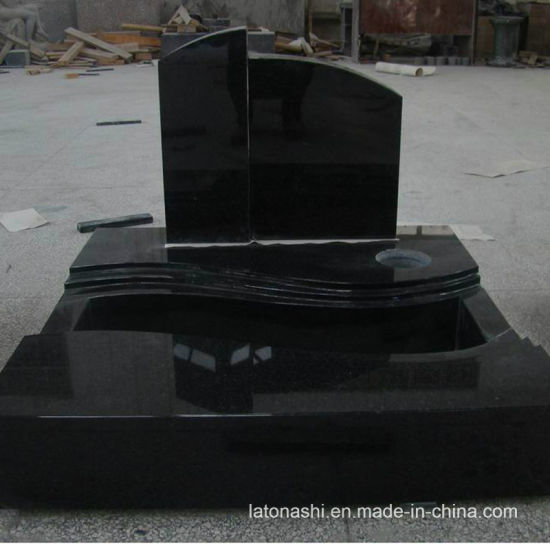 National Shanxi Black Granite Headstone for Monument Valley pictures & photos