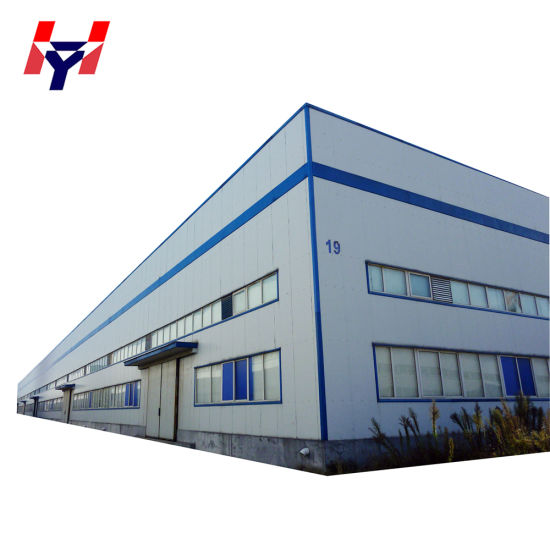 Pre Manufactured Custom Built Modular General Steel Insulated Cheap Metal Buildings for Sale
