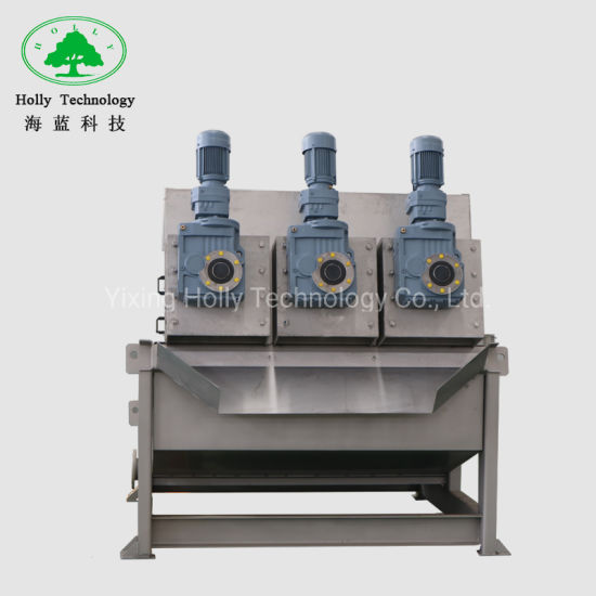 Automatic Sludge Dehydration Screw Press Machine for Waste Water