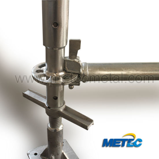 Hot DIP Galvanized Scaffolding for Construction (SGS) Ringlock, Cuplock, Frame
