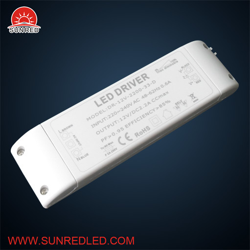Amazon Hot Selling LED Transformer 110V to 12VDC Constant Voltage LED Driver pictures & photos