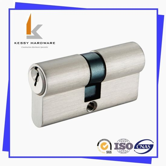 Door Hardware Euro Profile Double Lock Cylinder 60mm