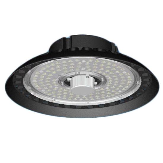 Motion Sensor Industrial 150W 200W IP65 UFO LED High Bay Light for Food Factory