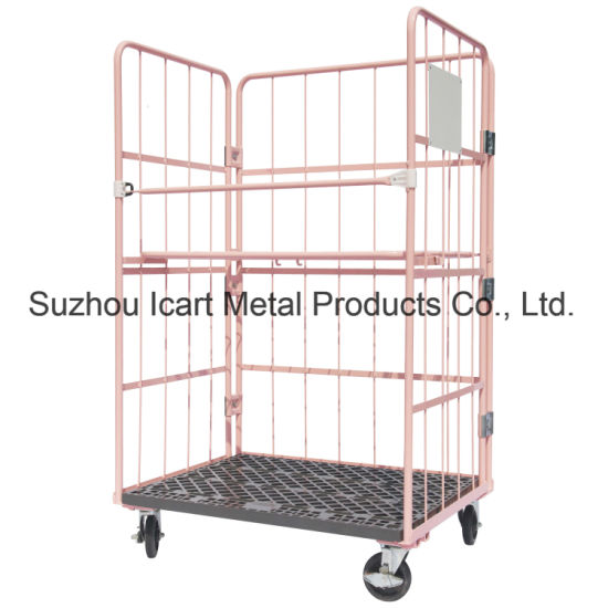 Foldable Roll Container for Logistics