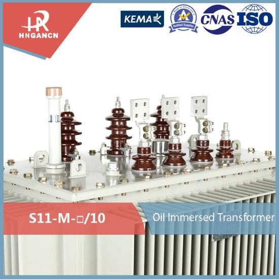 Onan Three Phase 10kv 6kv 630kVA Pole Mounted Oil Type Distribution  Transformer
