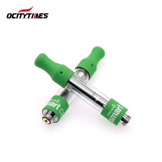 Wholesale 1ml Smart Carts Top Airflow Vaporizer Pen Cartridge for Cbd Oil