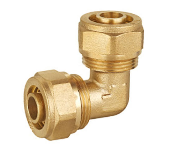 High Selling Compression Fittings Double Elbow for Pex Pipe