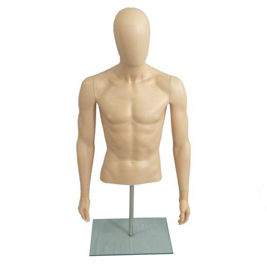 Display Dummy Models White Full Body PP Male Mannequin Head