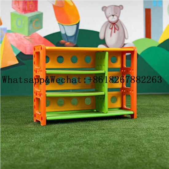 Multifunctional Creative Kids PE Toy Storage Shelf
