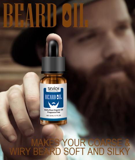 Customized Organic Beard Oil 100% Natural Mens Beard Oil