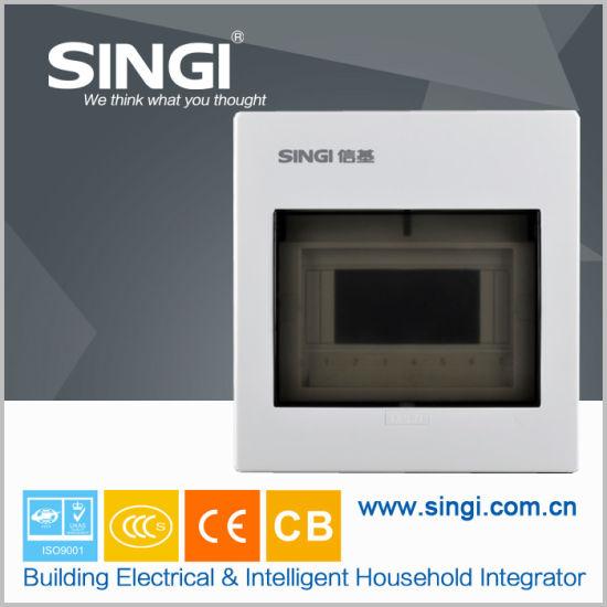 7 Ways Metal MCB Distribution Box Gnb-30 with Ce