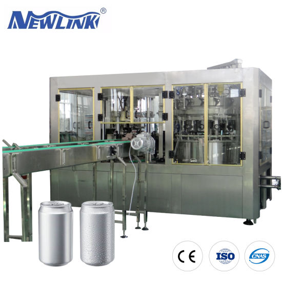 Aluminum Can /Energy Drink/CSD Carbonated Sparkling Soda Soft Drink/Pure Water / Seaming Equipment Liquid Beverage Filling Machine/Bottled Water Filling Machine