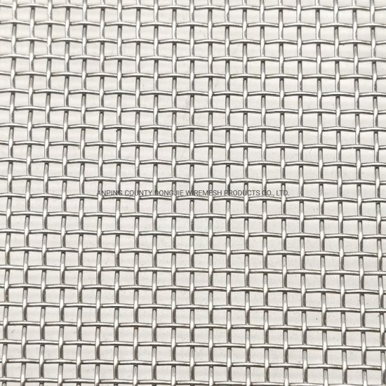 Factory Wholesale Plain Weave Stainless Steel Woven Wire Mesh Cloth