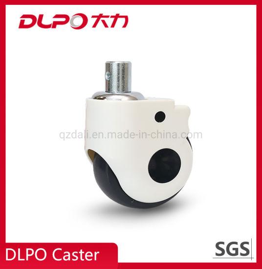 Dlpo 125mm Plastic Swivel TPR Castor Wheel for Anesthesia Machine