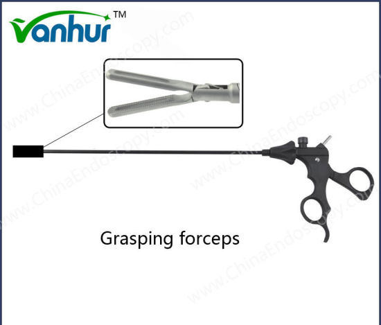 Laparoscopy Intestinal Grasping Forceps/Bowel Forceps 10X330mm