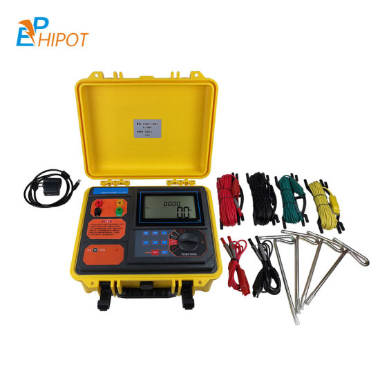 Soil Resistivity Tester Ground Earth Resistance Meter China Supplier IEC Standard