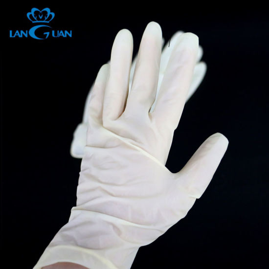 China Disposable Protective Nitrile Latex Gloves