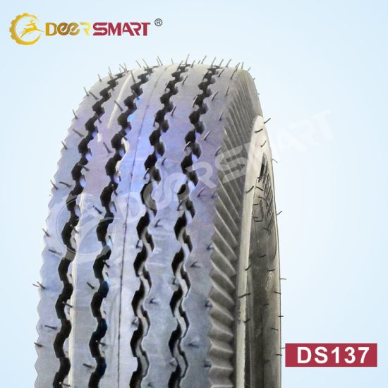 Wholesale Motorcycle Accessories China 400 8 Tyre Price Top Brand Tyre for Sale Tricycle Tire Size 4.00-8 Pattern Ds137 (TT/TL) Motorcycle Tyre