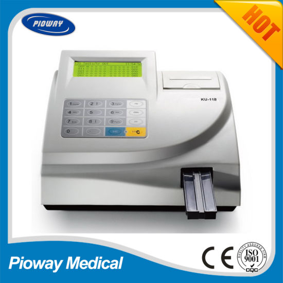 Medical Laboratory Equipment Urine Analyzer with Urine Reagent Strips (KU-11B)