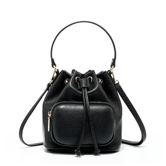 PU PVC Handbag Manufacturer, OEM/ODM Wholesale Factories, Faux Leather Tote Bag Bucket Lady Handbag