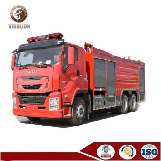 Vc Giga 6X4 13 Ton Water Foam Powder Fire Engine Truck for Philippines Market