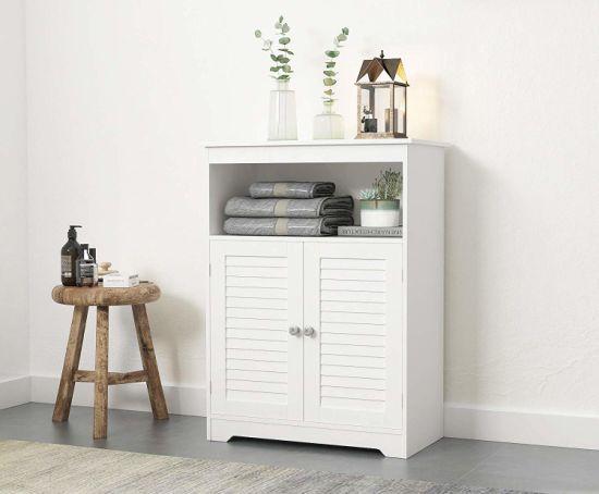 Free Standing Bathroom Storage Cabinet, Free Standing Furniture