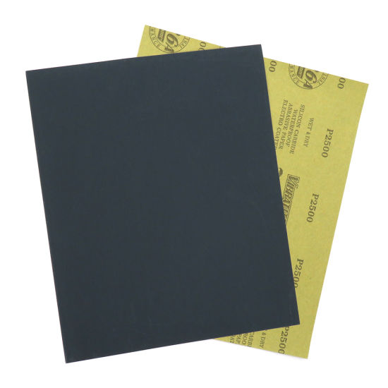 """9""""X11"""" Silicon Carbide Kraft Electro Coated Abrasive Paper 60 to 2500 Grits Wet/Dry for Automotive Sanding"""