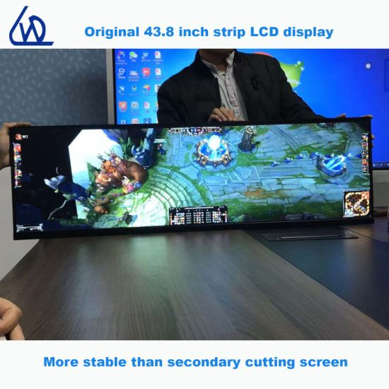 Original 43.8 Inch Indoor Matte Screen Strip LCD Display for E-Sports Game