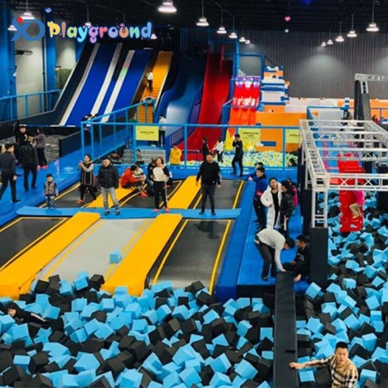 ASTM Ce Standard Factory Price Trampoline Park More Than 10 Years Manufacturing Experiences 6 Branches in China
