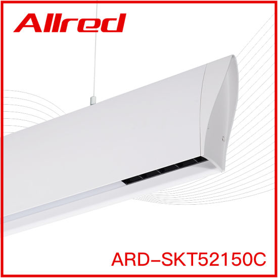 40W 80W Aluminum Lamp Body RGB Dimmable Smart Suspended LED Linear Light
