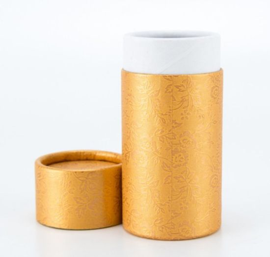 Custom Printed Design Round Gift Boxes, Cylinder Cardboard Box, Tube Packaging Boxes
