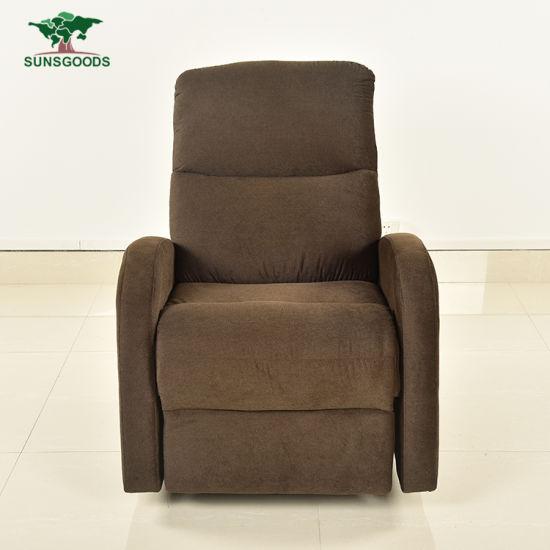 B209 Luxury Relax Furniture Lazy Boy Lift Manual Recliner Swivel Rocker Chair