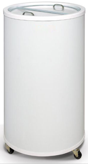 Promotional Fridge Electric Round Can Cooler for Beverage and Drinks (SC-50T)