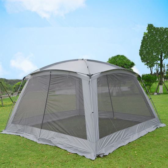 Bluebay Wholesale 8-12 Person Breathable Mesh Canopy Camp Tent for Outdoor