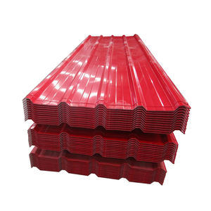 Building Material PPGL Galvalume Corrugated Roofing Sheet