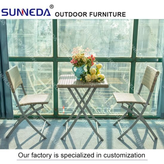 Wholesale Folded Outdoor Patio Restaurant Hotel Furniture Table & Chair Set