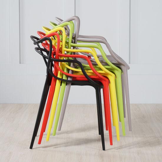Wholesale Interior Outdoor Garden Coffee Shop Furniture Plastic Bar Chair