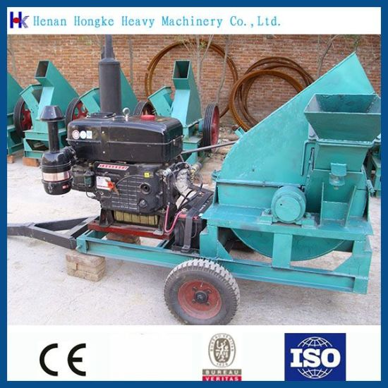 Diesel Drive Wood Crusher Machine for Sale pictures & photos