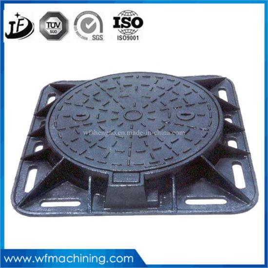 China Ductile Iron Manhole Cover for Drainage/Sewer Hole/Frame Cover ...