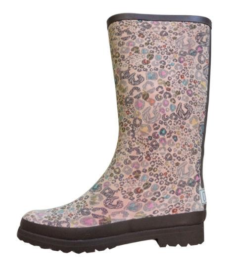 High Quality Printing Rain Boots