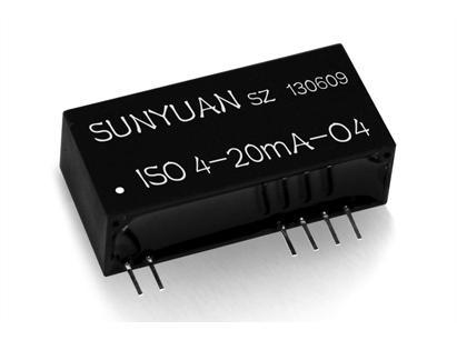 2-Wire 4-20mA Passive to Voltage Signal Isolation Transmitter