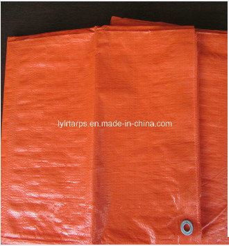 Double Orange Tarpaulin Cover pictures & photos